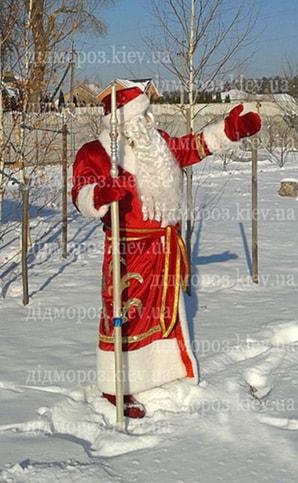 Дед Мороз в Киеве